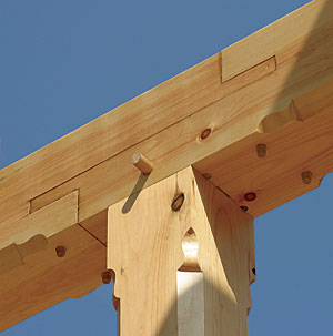 double-bladed scarf joint