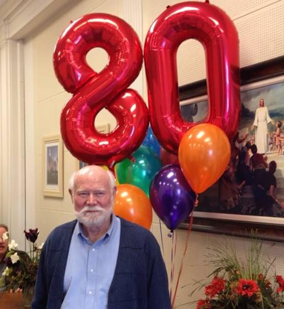 dad's80th